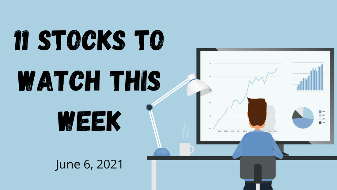 11 Stocks to watch this week stock watchlist